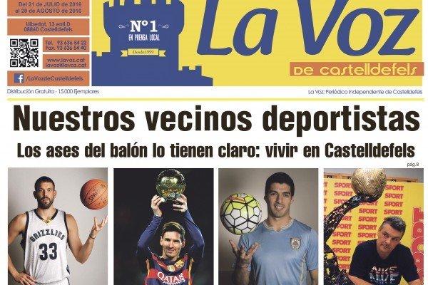 Las estrellas del deporte eligen Castelldefels