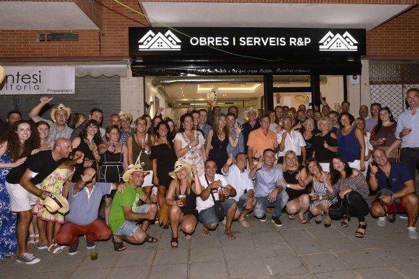 Inauguración de OBRAS I SERVEIS R&P