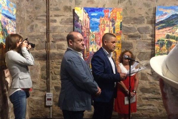 """Manolo Rivera, presenta su obra """"La Mar de pintures"""""""