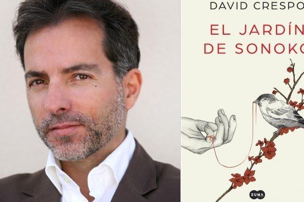 """David Crespo, autor de la novela  """"El jardín de Sonoko"""""""