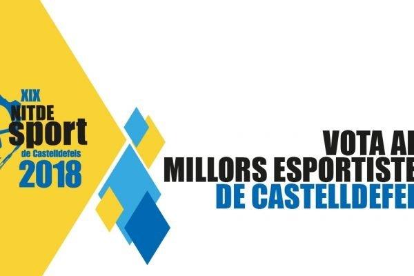La Nit de l'Esport de Castelldefels 2018