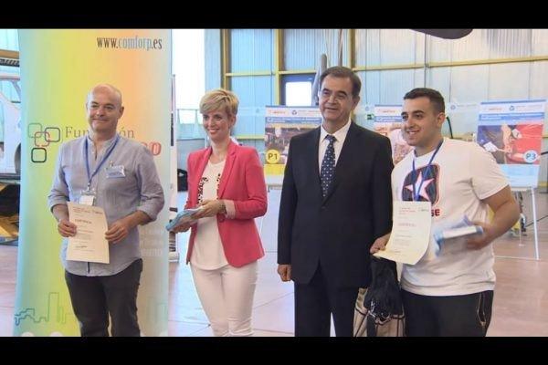Juan Manuel Andrade, un joven de Castelldefels campeón de España en el XV Concurso de Jóvenes Técnicos en Automoción