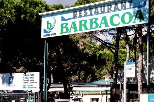 Europa Barbacoa Restaurant,  excelente cocina a la sombra de los pinos
