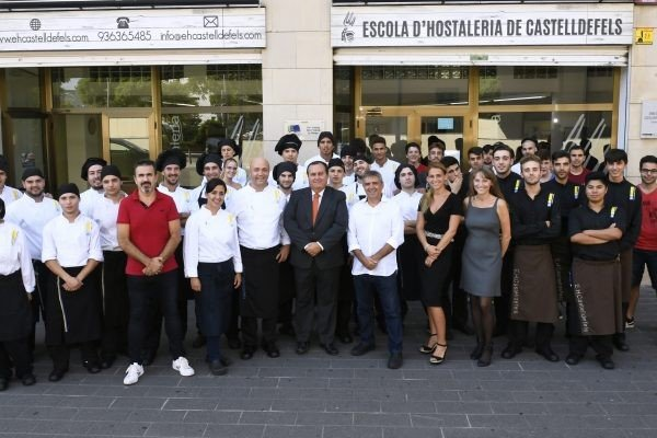 ESCOLA D'HOSTALERIA DE CASTELLDEFELS , NUEVO CURSO LECTIVO