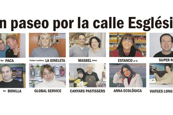 Calles de Castelldefels: Carrer Església