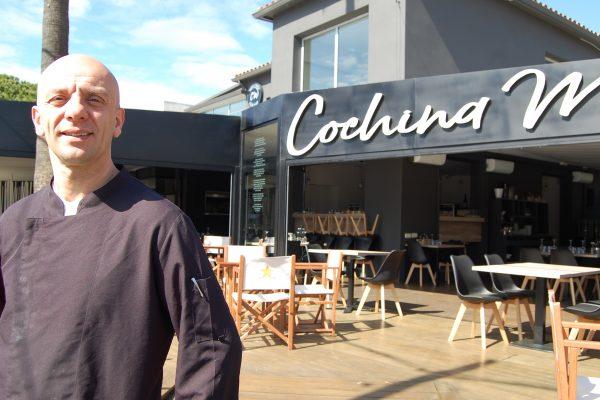 FRANCO MOLINARO, el chef de la nueva pizzería COCHINA MISERIA