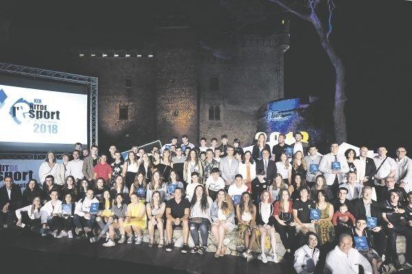 XX EDICIÓ DE LA NIT DE L'ESPORT DE CASTELLDEFELS