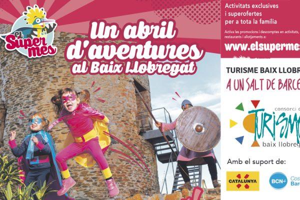 A l'abril torna el SuperMes del Baix Llobregat, amb una gran festa d'inici i concert de Reggae per Xics