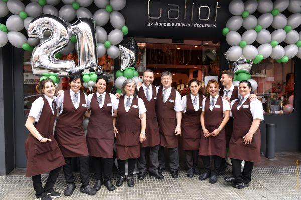 GALIOT cumple 21 años de calidad