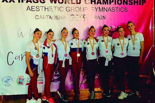 XX Edición del Campeonato del Mundo de Gimnasia Estética de Grupo Cartagena 2019
