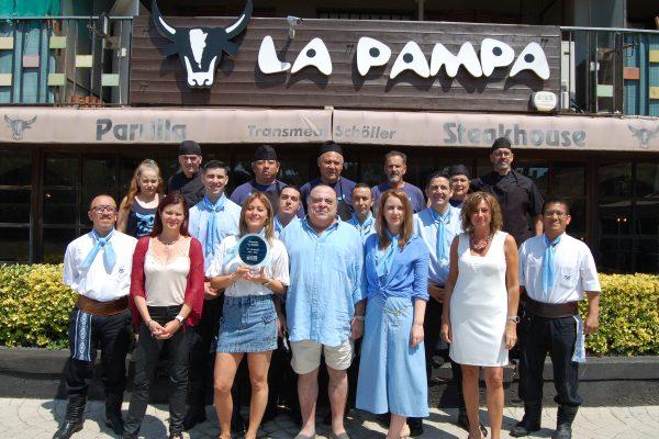 """Restaurante – Parrilla - Steakhouse  La Pampa, """"30 años contigo"""""""