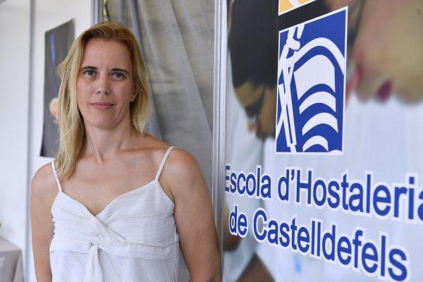 Sonia Niubó, al frente de la Escola d'Hostaleria de Castelldefels