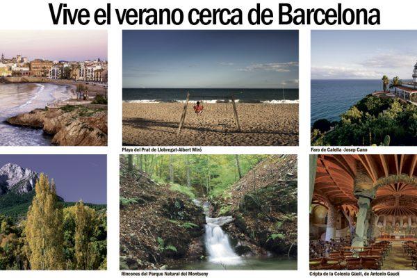 Vive el verano cerca de Barcelona