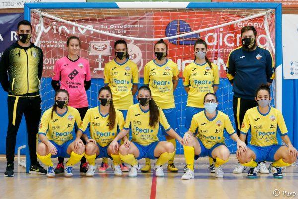 El FS Castelldefels aboga por un fútbol sala seguro