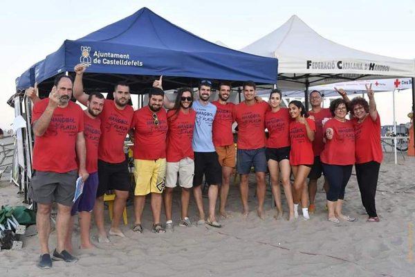 """Handbol Esportiu Castelldefels   VI Torneig Handbol Platja Castelldefels """"Ocio y deporte en nuestra playa previsto para la última semana de julio 2021"""""""