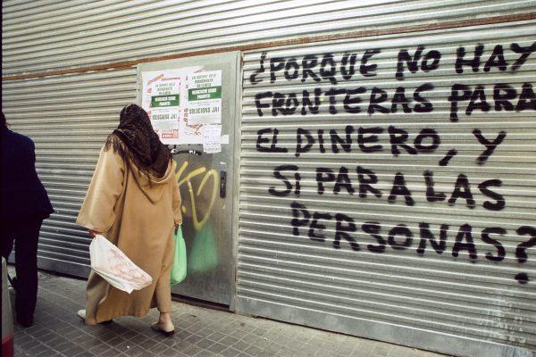 20º aniversario de los encierros de inmigrantes en las iglesias de Barcelona