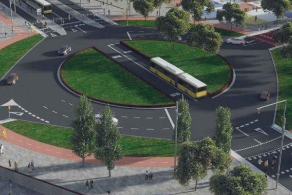 ¿Cómo era el proyecto inicial de la Avenida Constitución de Castelldefels?