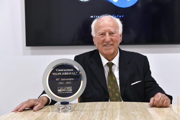 Felipe Jordán 60 años construyendo en Castelldefels